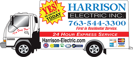 Harrison Electric Inc. Logo